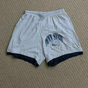 Pants - Vintage Penn State Soft Drawstring Shorts